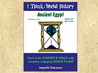 Ancient Egypt <br>(Grades 6-12)