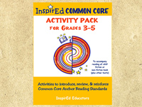 Common Core Activity Pack: Anchor Reading (Grades 3-5)