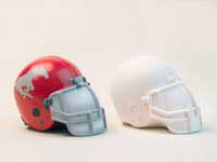 Paint Your Own Football Helmet Coin Bank Kits - 10 Kit Bundle