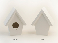 Paint Your Own Ceramic Birdhouse