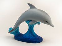 Paint Your Own Ceramic Dolphin