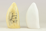 Maritime Trade/Exploration - Scrimshaw Whale Tooth (1600 - 1899)